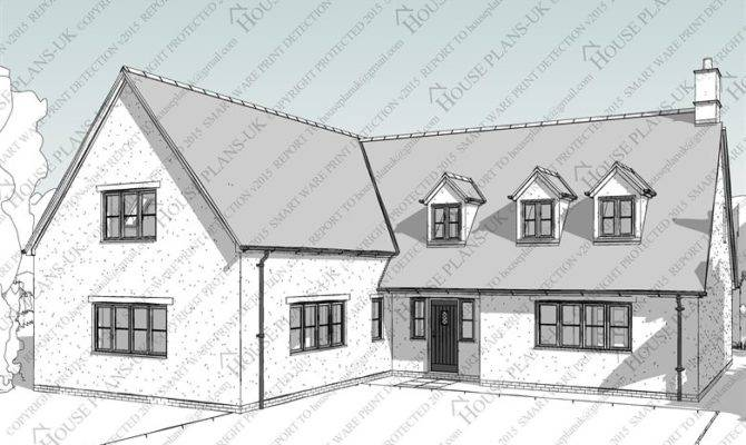 Dormer Bungalow House Plans Homes Floor