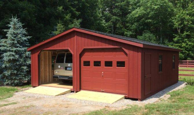 Double Bay Garage Photos Barn Yard Great Country Garages