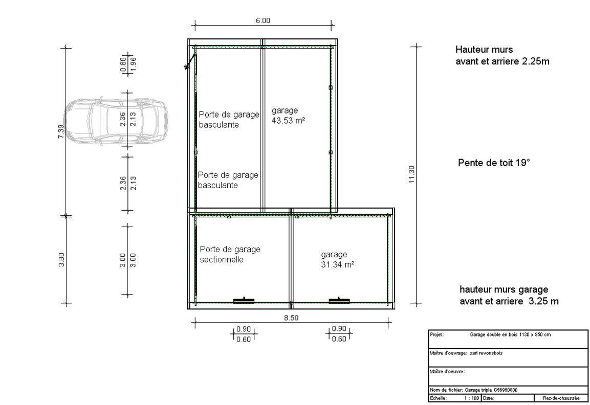 Double Car Garage Plans