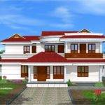 Double Floor Home Design Kerala Plans