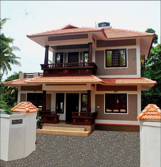 Double Floor Kerala Home Design Square Feet