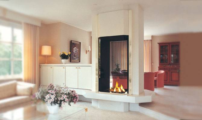 Double Sided Fireplace Two