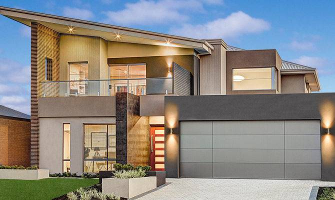 Double Storey Beach House Designs
