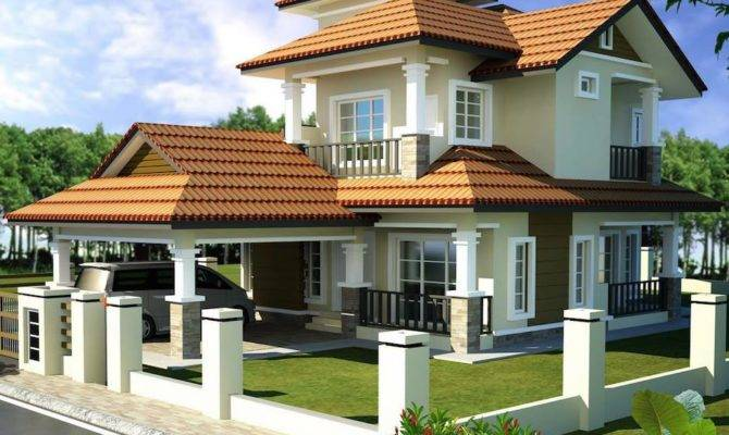 Double Storey Bungalow House Plan Home Design Best