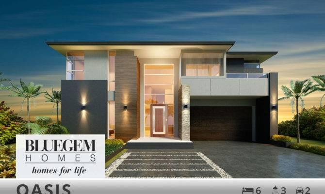 Double Storey Custom Home Designs Bluegem Homes
