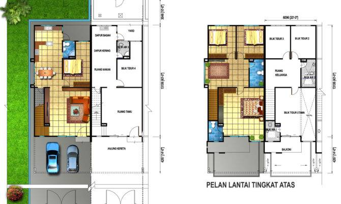 Double Storey Floor Plan Jpeg Home Plans Blueprints