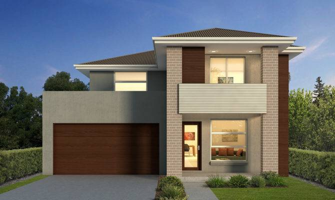 Double Storey Home Designs House Nova