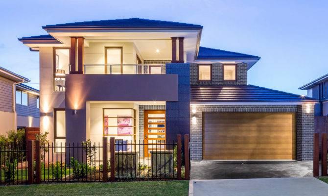 Double Storey House Balcony Design Elegant Story