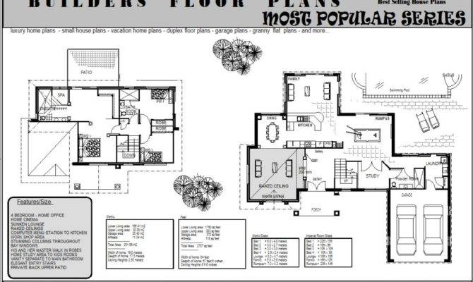 Double Storey House Plans Ascot Large