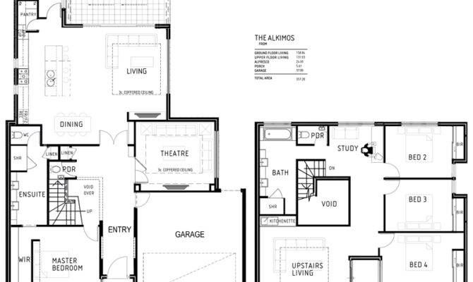 Double Storey House Plans Theradmommy