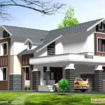 Double Story Home Design Kerala Floor Building Plans