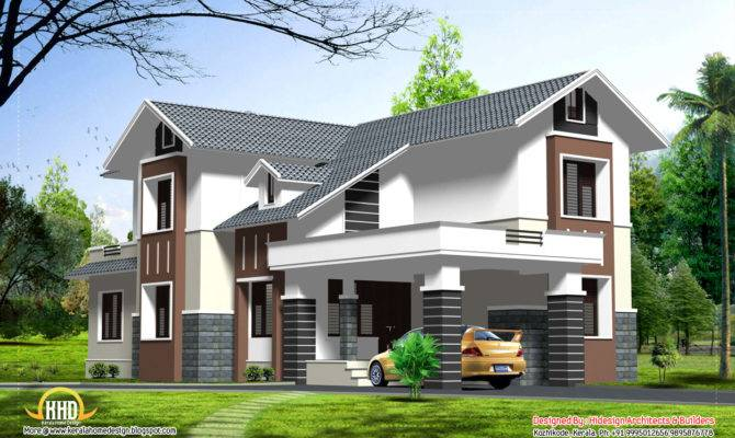 Double Story Home Design Kerala Floor Building Plans