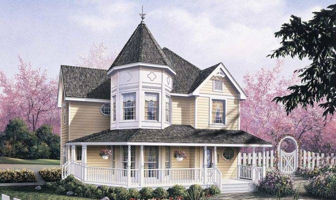 Dramatic Layout Created Victorian Turret