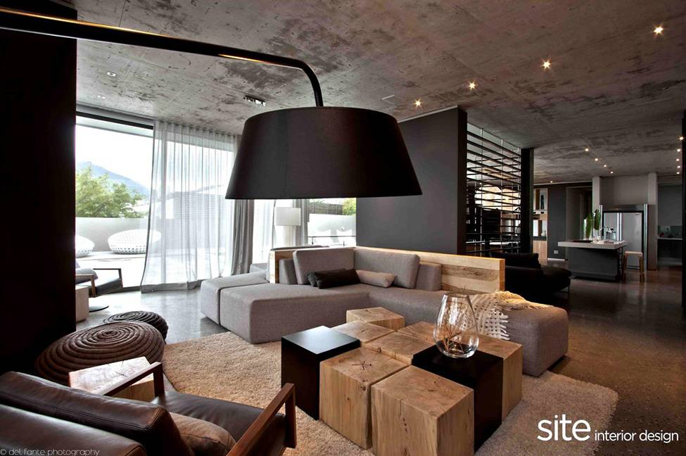 Dramatic Modern House Located Camps Bay Cape Town Designed