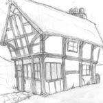 Draw Tudor Houses