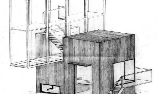 Drawing Architecture House Troels Skov Carlsen