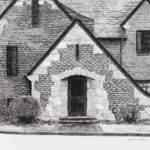 Drawing House Fine Example Cottage Style Tudor