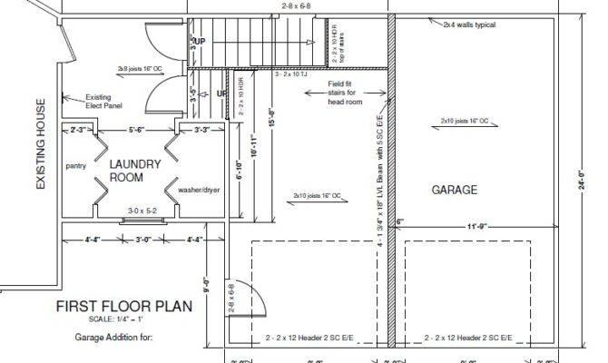 Dream Garage Addition Plans House