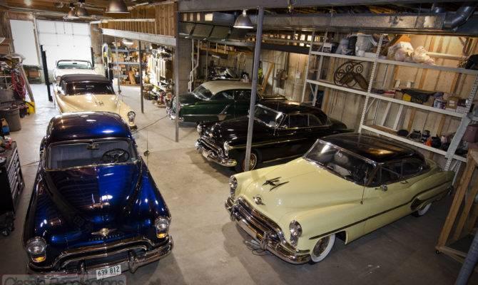 Dream Garage Feature Oldsmobile Basement Classic