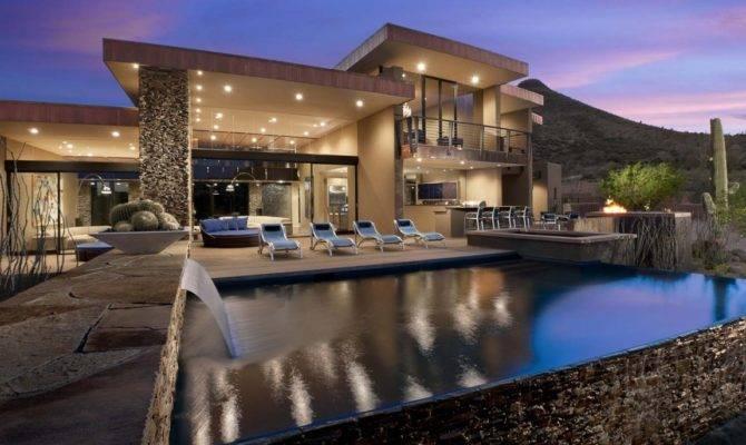 Dream Home Award Winning Modern Luxury Arizona Sefcovic