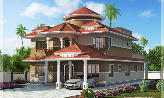 Dream Home Design Feet Kerala Floor Plans