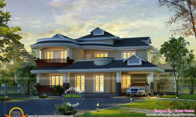 Dream Home Design Kerala Floor Plans