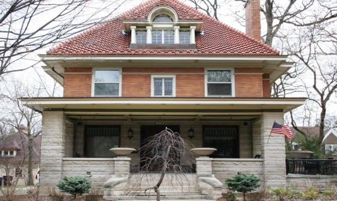 Dream Modern American Foursquare House Plans