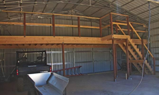Dream Shop Loft House Plans