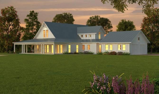 Dream Single Story Farmhouse House Plans