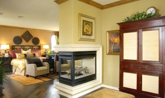 Dream Three Way Fireplace House Plans