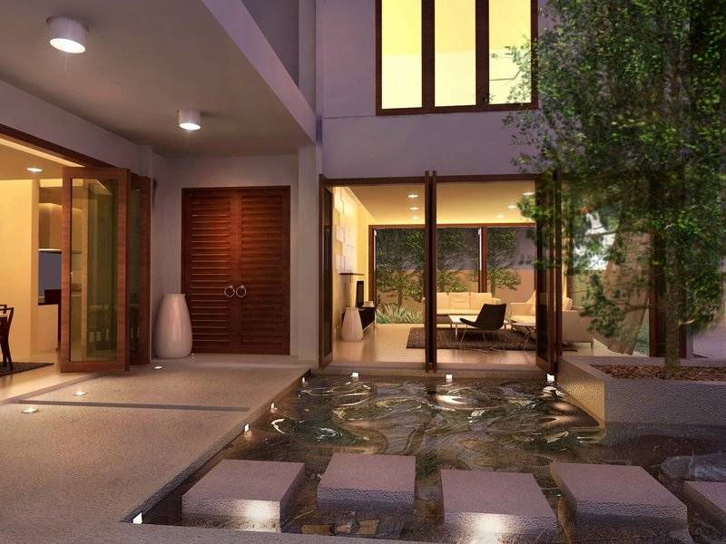 Dreams Homes Interior Design Luxury Courtyards