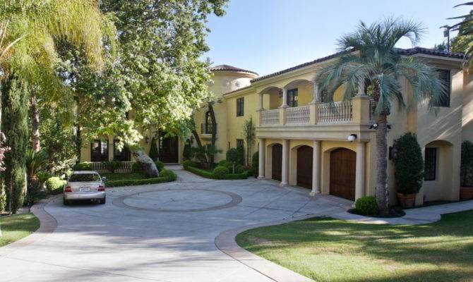 Driveway Spanish Mediterranean House