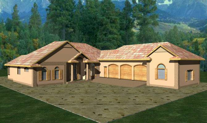 Duarte Luxury Ranch Home Plan House Plans More