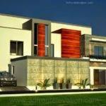 Dubai Arabian Modern Contemporary Beautiful House Design Front