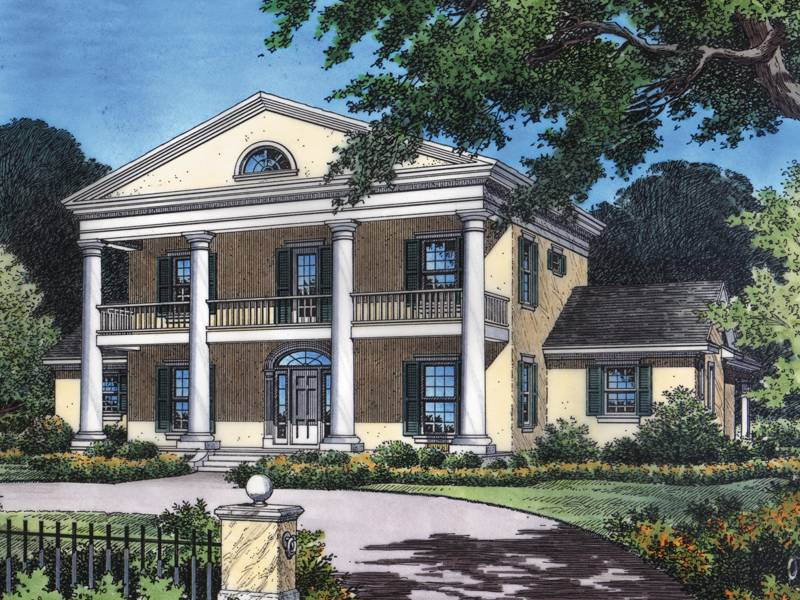 Dunnellon Plantation Home Plan House Plans More