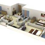 Duplex Bedroom Flat Plan Nigeria Joy Studio Design