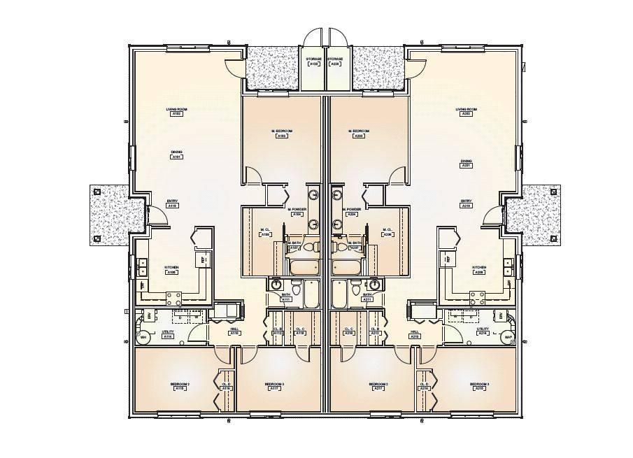 Duplex Floor Plans House Plan Shop