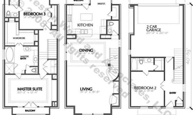 Duplex House Construction Floor Plans Blueprints