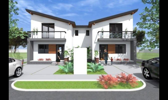 Duplex House Design Homes Floor Plans