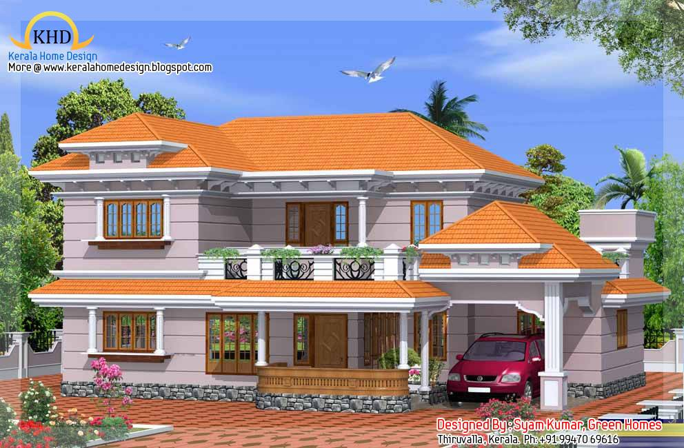 Duplex House Elevation Kerala Home Design Floor