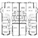 Duplex House Plans Numbers Floors