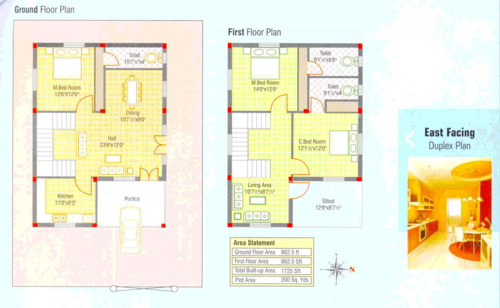Duplex House Plans Small