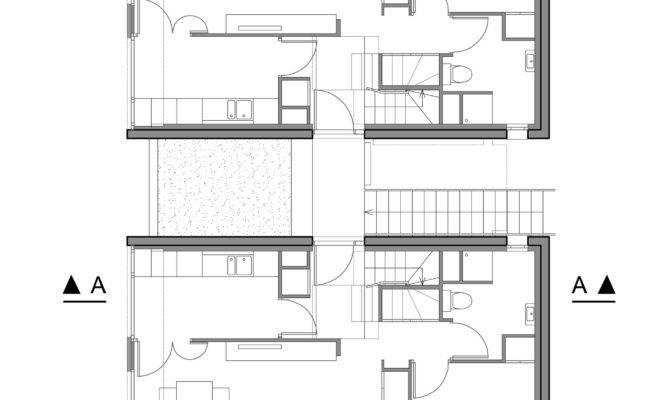 Duplex Housing Floor Plans House Design