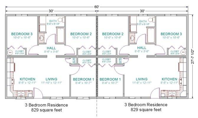 Duplex Modular Home Plans Find House
