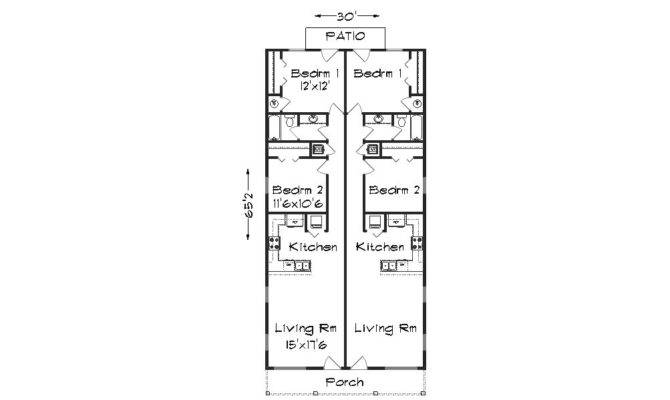 Duplex Plan Plansource Inc
