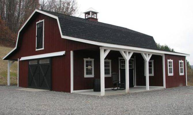 Dutch Barn Garage Plans Pinterest