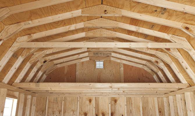 Dutch Barn Shed Plans Understanding Gambrel Roof