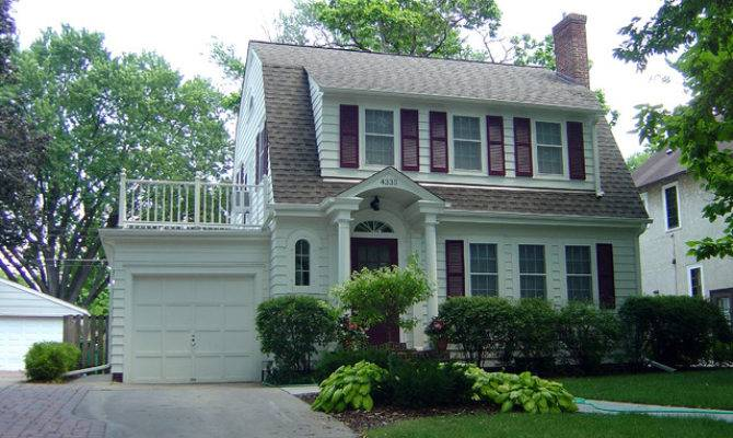 Dutch Colonial Remodel Traditional Exterior