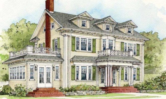 Early Century Suburban House Styles Old