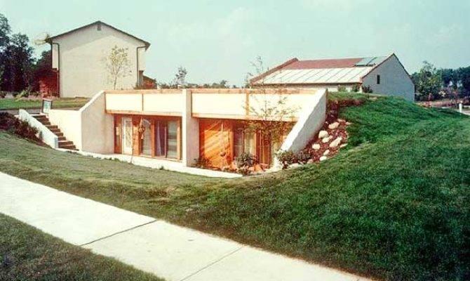 Earth Berm Homes Designs Green Living